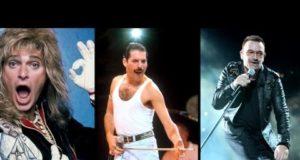 Top 10 Frontmen in Rock 3
