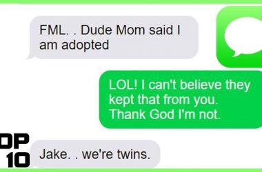 Top 10 Dumbest Text Messages - Part 3 5