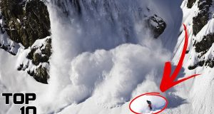 Top 10 Scary Avalanches Caught On Camera 2