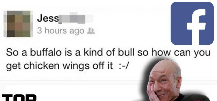 Top 10 Dumbest Facebook Posts – Part 5 1